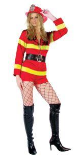 LIGHT MY FIRE ADULT COSTUME - PLUS SIZE