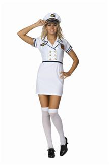 AVA NAVY PLUS SIZE ADULT COSTUME
