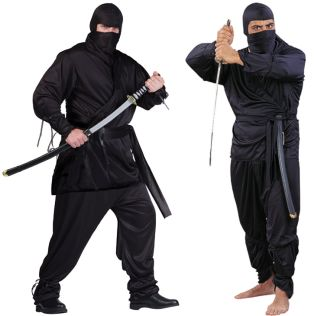 NINJA ADULT COSTUME - PLUS SIZE