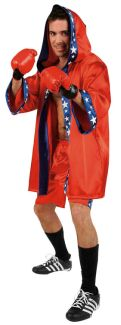 U.S.CHAMPION ADULT COSTUME - PLUS SIZE