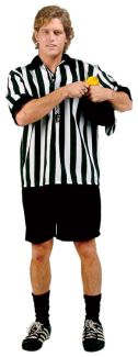 REFEREE ADULT COSTUME