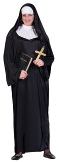 NUN ADULT COSTUME, PLUS SIZE