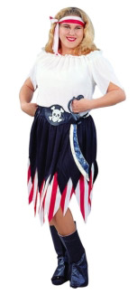 PIRATE WENCH COSTUME - PLUS SIZE
