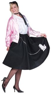 ADULT POODLE SKIRT - PLUS SIZE