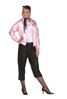 50S PINK LADY ADULT COSTUME - PLUS SIZE