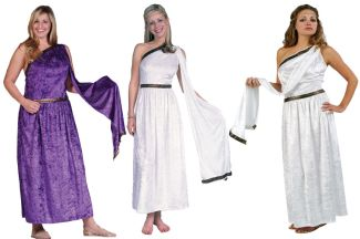 ROMAN TOGA ADULT COSTUME, PLUS SIZE