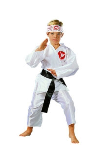 KARATE BOY CHILD COSTUME