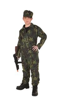 COMMANDO CHILD COSTUME