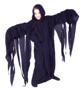 THRILLING GHOUL CHILD ROBE