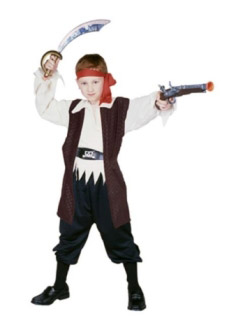 CARIBBEAN PIRATE BOY CHILD COSTUME