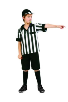 REFEREE BOY CHILD COSTUME