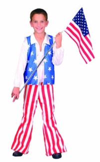 PATRIOTIC HERO CHILD COSTUME