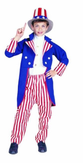 UNCLE SAM CHILD COSTUME