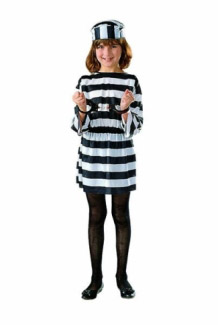 GIRL CONVICT CHILD COSTUME