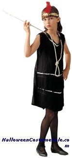 FLAPPER CHILD COSTUME