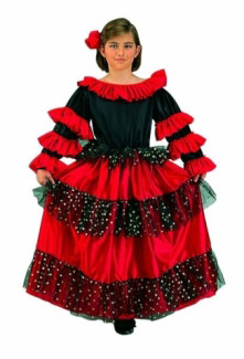 SPANISH BEAUTY CHILD COSTUME
