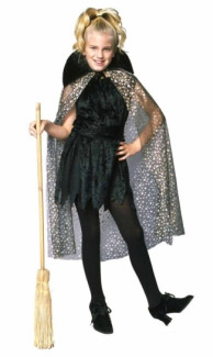 GLAMOR WITCH CHILD COSTUME