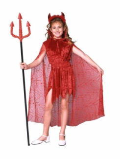GLAMOR DEVIL CHILD COSTUME