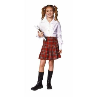 SCHOOL GIRL CHILD COSTUME