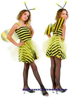 SWEET BUMBLE BEE CHILD COSTUME