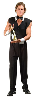 Chip the Bartender ADULT  Costume