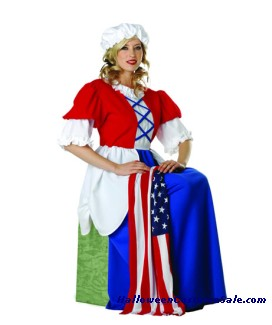 BETSY ROSS ADULT COSTUME