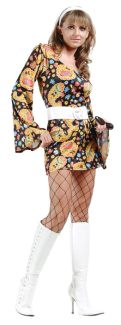 Disco Girl Adult Costume - Plus Size