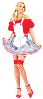Sexy Dorothy Adult Costume - Plus Size