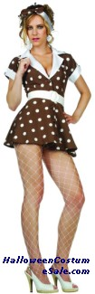 50s Adult Rock Costume - Plus Size