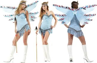 Naughty Navajo Adult Costume - Plus Size