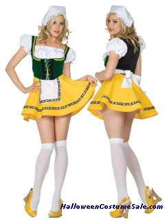 BEER GARDEN GIRL ADULT COSTUME - PLUS SIZE