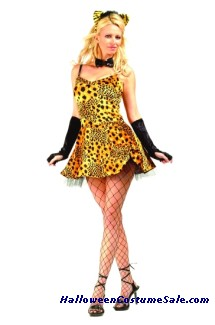 Sweetie Cheetah  Adult Costume
