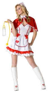 Caped Nurse Costume