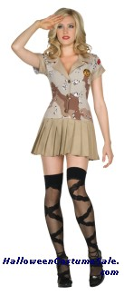 COMMANDO CUTIE ADULT COSTUME
