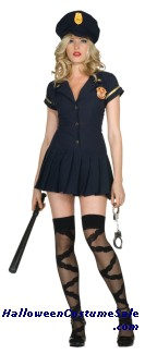 OFFICER SAVE ME ADULT COSTUME (PLUS SIZE) - VERY HOT!