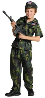 Army Commando Child Costume