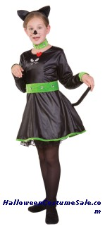 SASSY CAT CHILD COSTUME