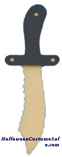 PIRATE KNIFE PLASTIC TOY