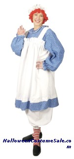 RAGGEDY ANN ADULT COSTUME - PLUS SIZE
