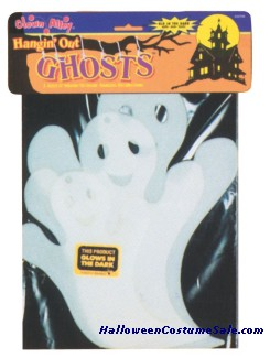 GLOW IN THE DARK HANGING GHOST