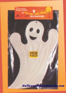 GLOW IN THE DARK PLASTIC GHOST