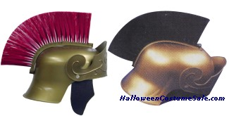 ROMAN HELMET w/ BRUSH