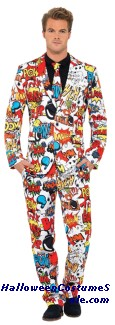 COMIC STRIP SUIT ADULT COSTUME