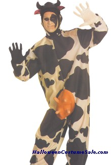 COMICAL ADULT COW COSTUME
