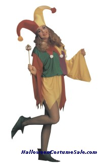 KINGS JESTER ADULT COSTUME