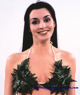 CLUSTER OF LEAVES COVER-UP BRA