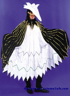 ADULT HERON COSTUME - W/ HEADPIECE