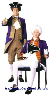 ADULT AMERICAN REVOLUTIONARY OFFICER COSTUME