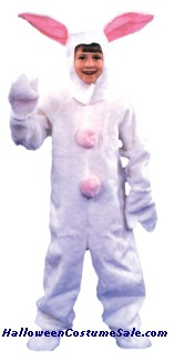 WHITE BUNNY CHILD SUIT