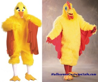 COMICAL CHICKEN ADULT COSTUME